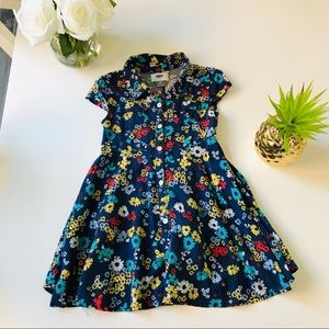 4T Old Navy Floral Button Down Dress